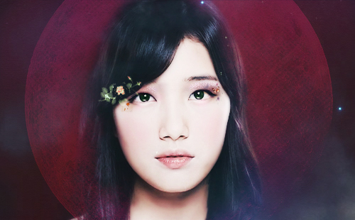 "Bae Suzy Fanart ""Welcome 2012"""