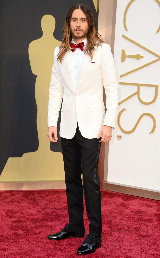 Jared Leto Academy Awards 2014 Red Carpet Oscars Celebrity Melanie.Ps blogger Toronto The Purple Scarf