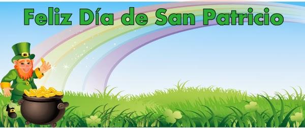 Tarjetas de Feliz San Patricio, parte 1
