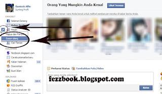 Cara Mengatur Ulang Tab Menu Di Beranda Facebook