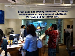 Grom does not employ conservatives