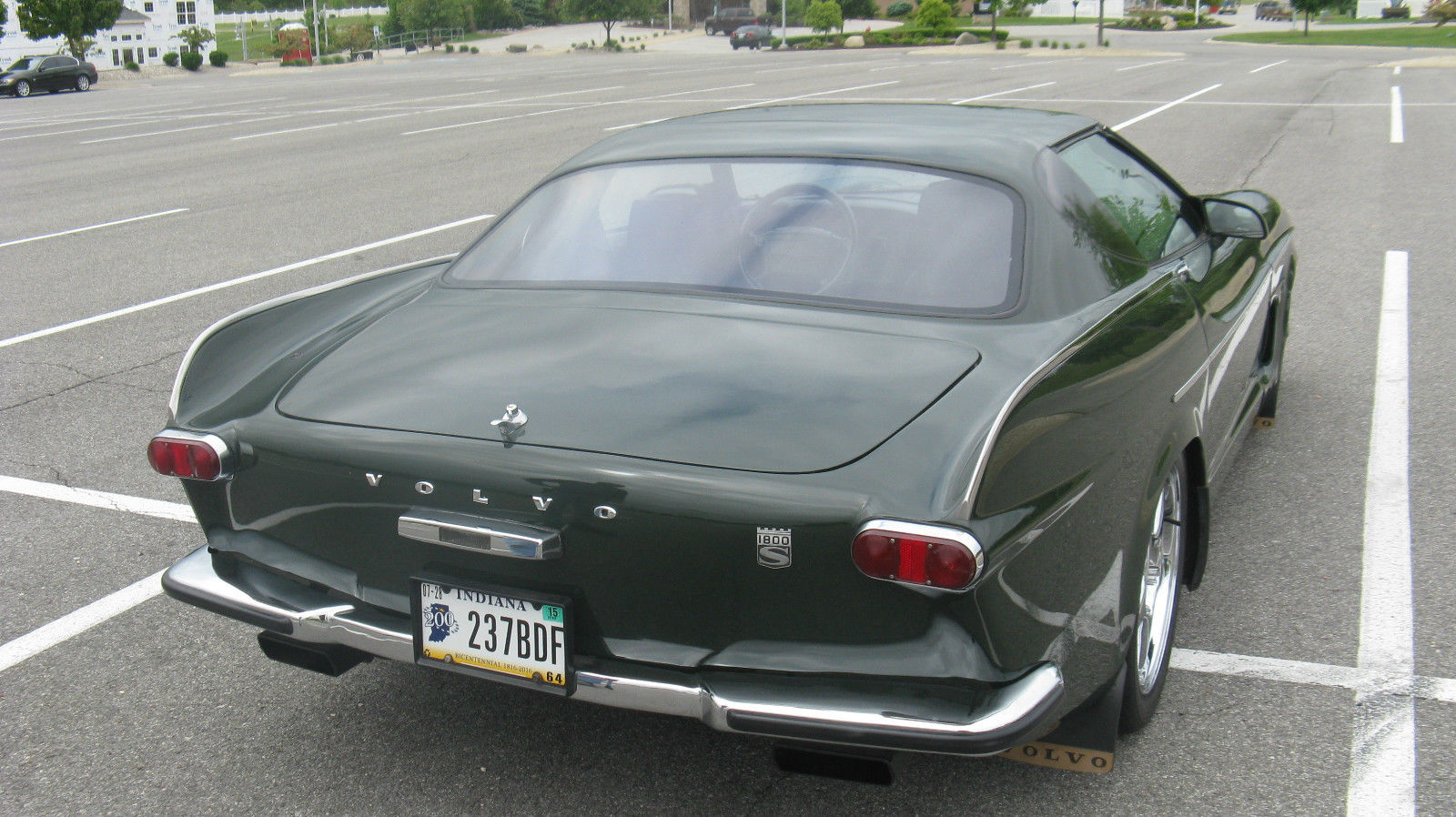 Volvette Is A 1992 Corvette With A 1967 Volvo P1800 Body | Carscoops