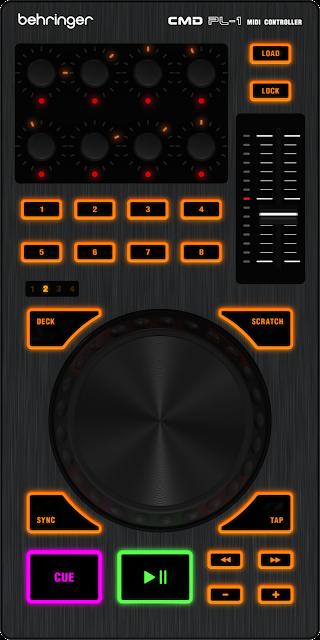 Controlador Behringer CMD PL-1
