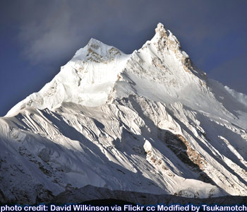 Manaslu (26,758 feet) by David Wilkinson