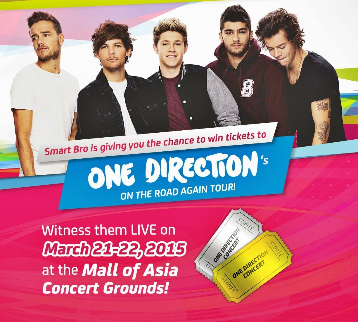 One Direction Live In Manila March 21 And 22 2015 The Daily Talks