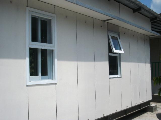 Rumah Contoh Dengan Dinding & Lantai Beton Ringan Qui Panel