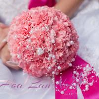 Hoa cưới kiểu tròn 1