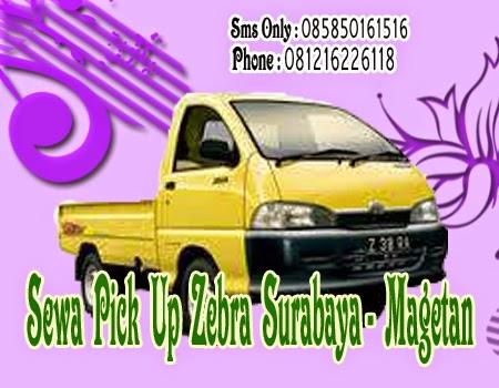 Sewa Pick Up Zebra Surabaya - Magetan
