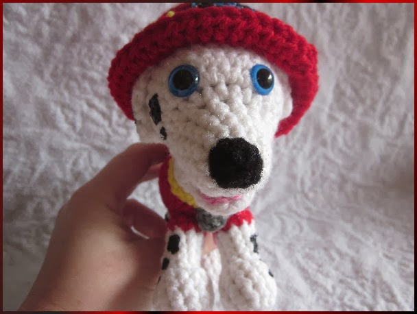Crochet Patterns Paw Patrol : Melissas Crochet Patterns: Marshall from Paw Patrol Crochet Pattern