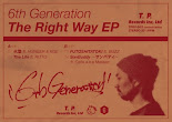 6th Generation - The Right Way 12' レコードEP