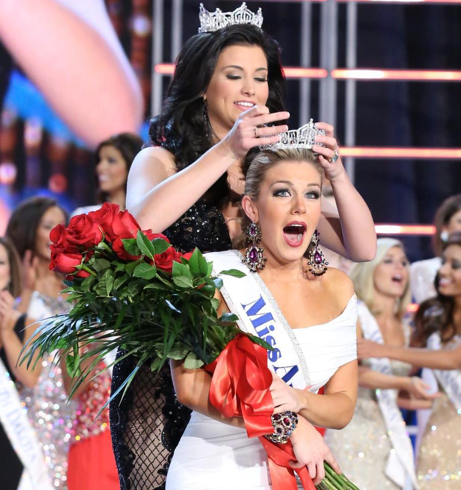Miss America 2013 winner Mallory Hagan New York