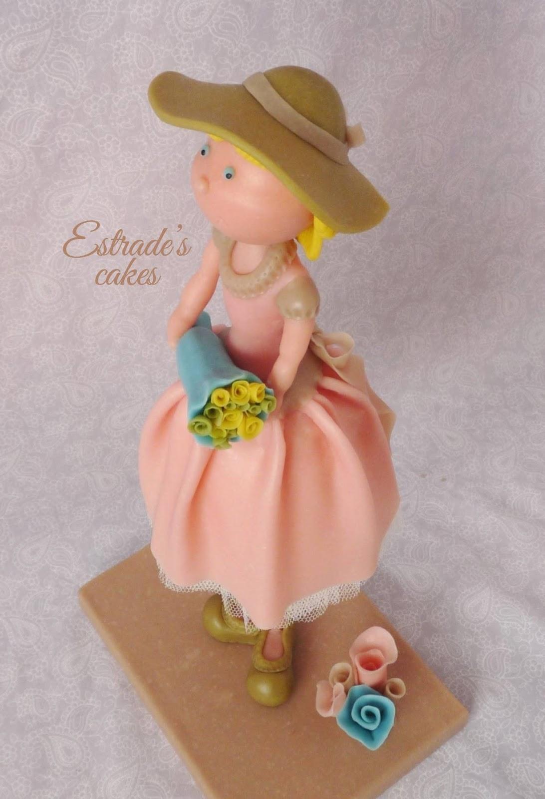 muñeca alta vintage en porcelana fria-4