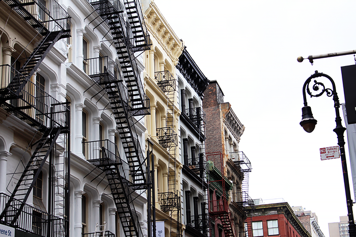 NYC New York Soho Fire Escapes