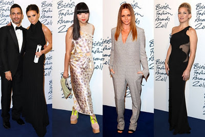 Victoria Beckham honored by the British fashion