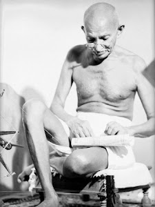 Spinning Gandhi