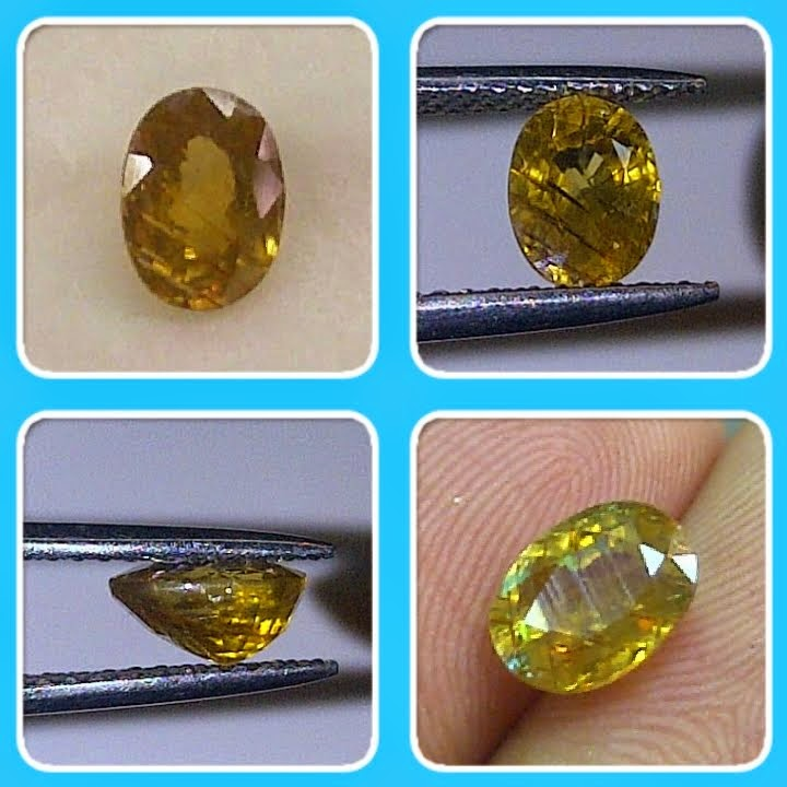 natural yellow zircon (TB0124) (Rp.175.000) nett