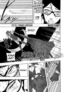 Naruto Gaiden 05 Mangá (capítulo 700.05) portugues leitura online