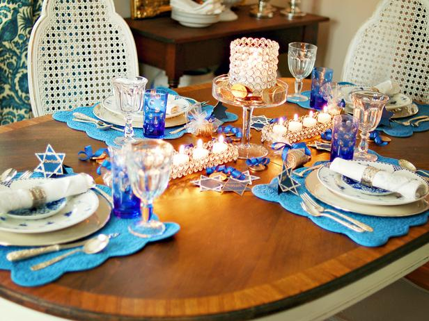 Hanukkah Table by Tribridge Residential