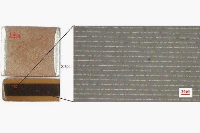 10 µF X7R MLCC layer