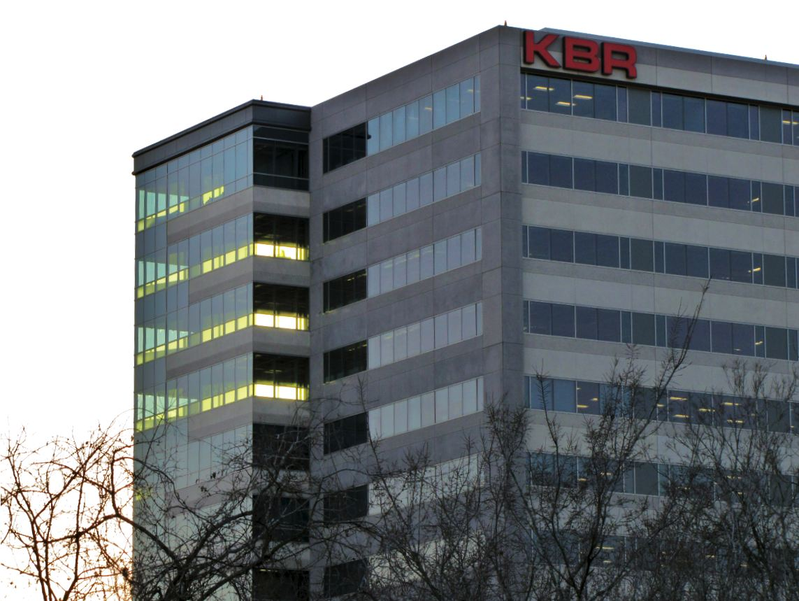 601 jefferson street houston tx 77002 - Kbr Logo And Partial Views Of Office Towers With Company S Signage