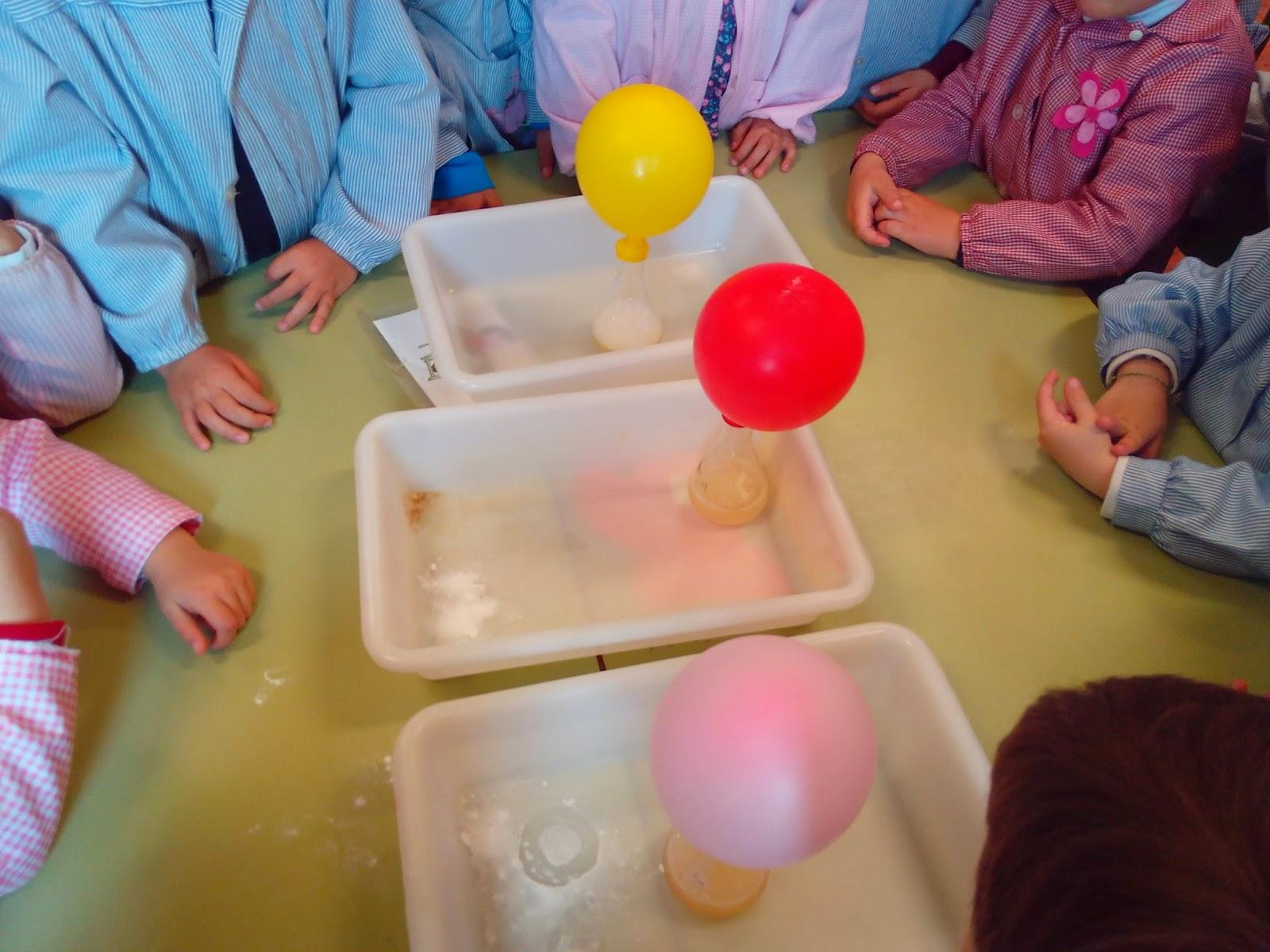 experimiento ciencia niños