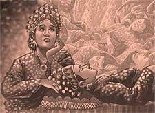 Meninggalnya Puteri Tujuh Ratu Cik Sima
