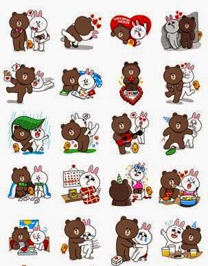 Stickers-LINE-San-Valentín