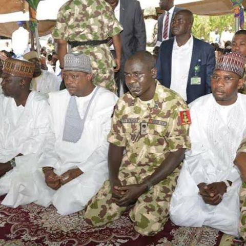 Chief of Army Staff Observes Sallah Prayers in Yobe