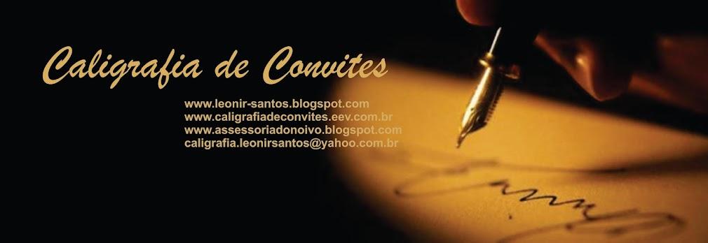 Caligrafia de Convites