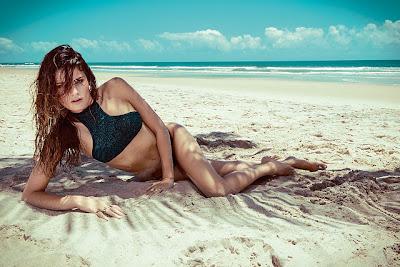 Isabeli Fontana Morena Rosa Swimwear Beach Fall/Winter 2013 Campaign