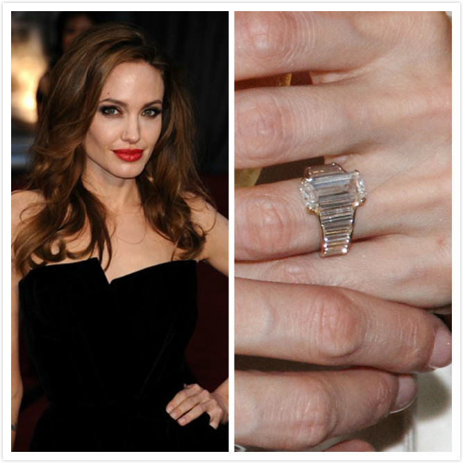 Jennifer Anistons Engagement Ring From Celebrities Wedding To Learn The Rings Trend 2013