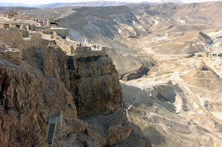 Dead Sea - Masada - Mountaintop Fortress