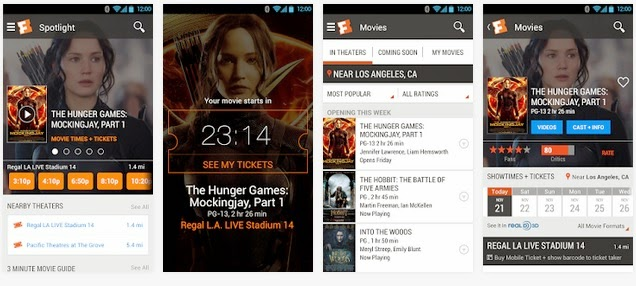 Movie Ticket Booking Android App