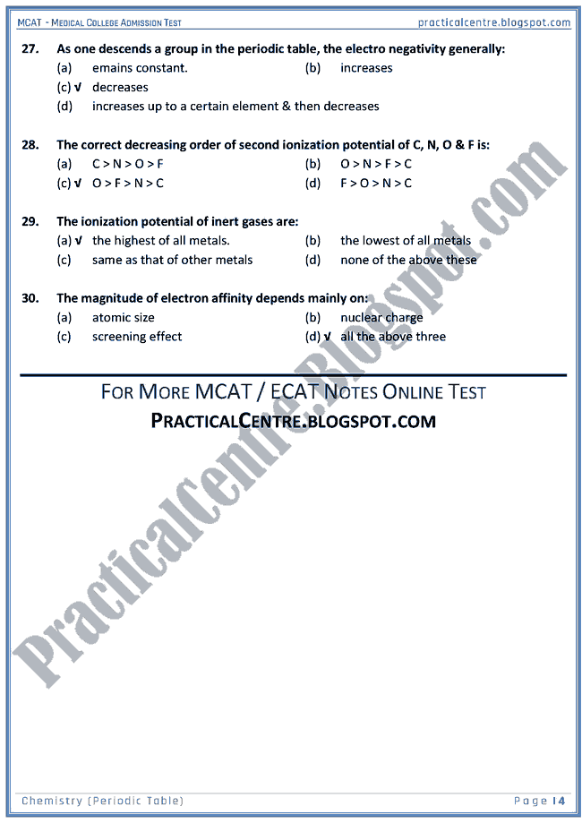 mcat-chemistry-periodic-table-mcqs-for-medical-college-admission-test