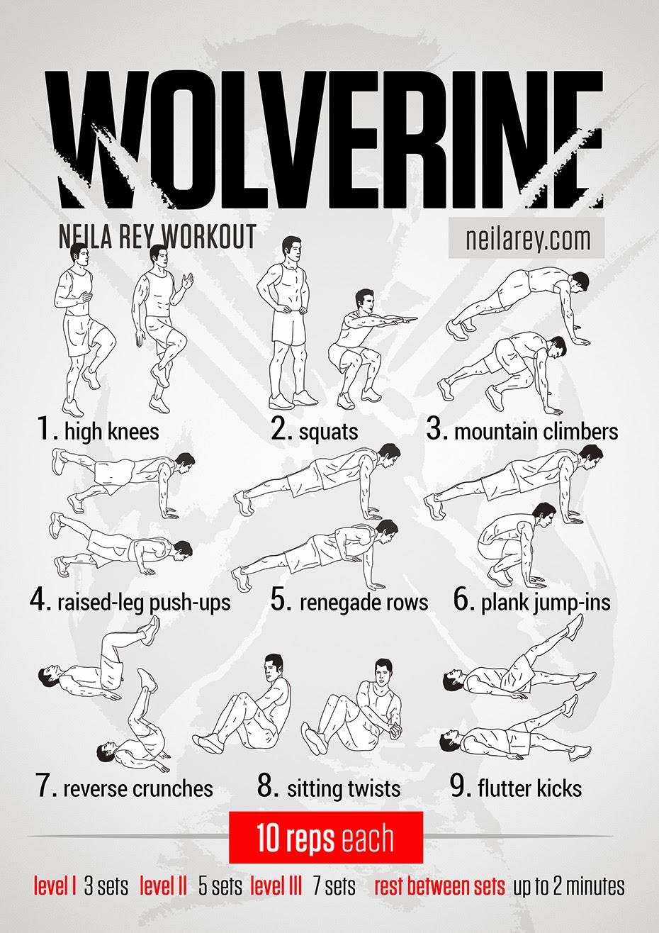 Wolverine Workouts Neila Rey