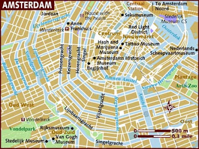 Map of Amsterdam city 1