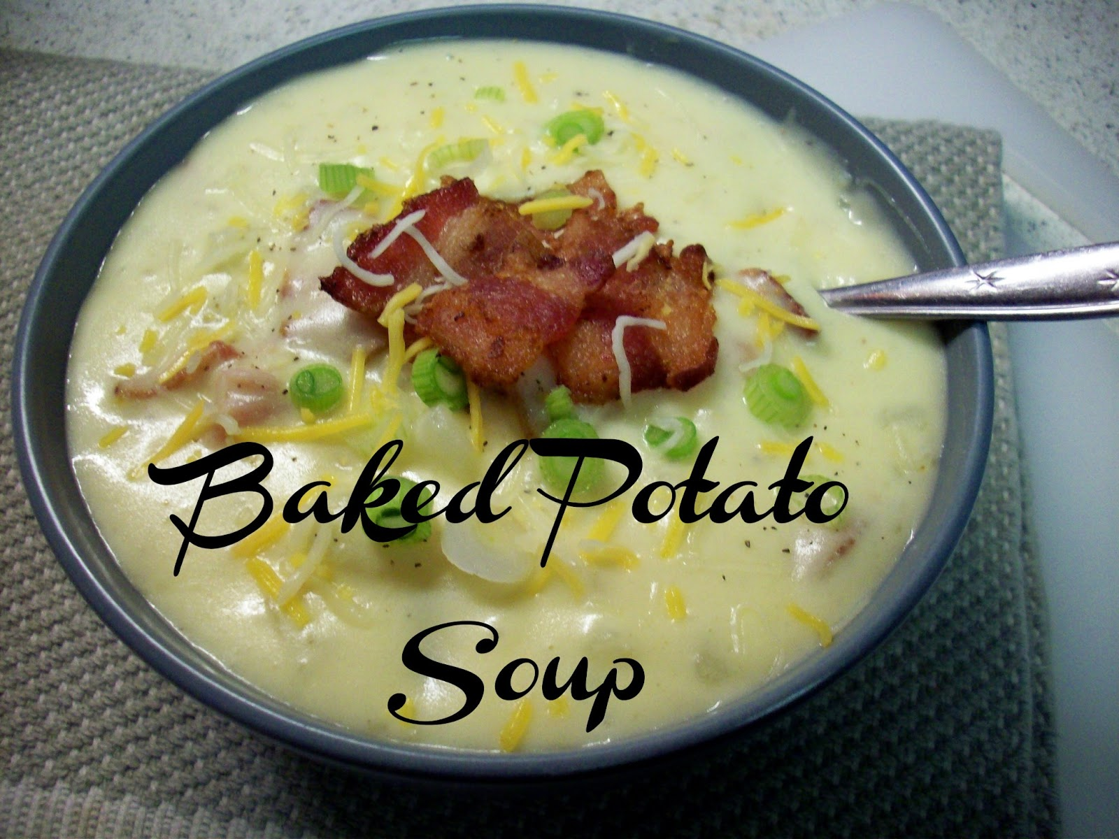 Shannon's Baked Potato Soup (freezes nicely) - Summer Scraps