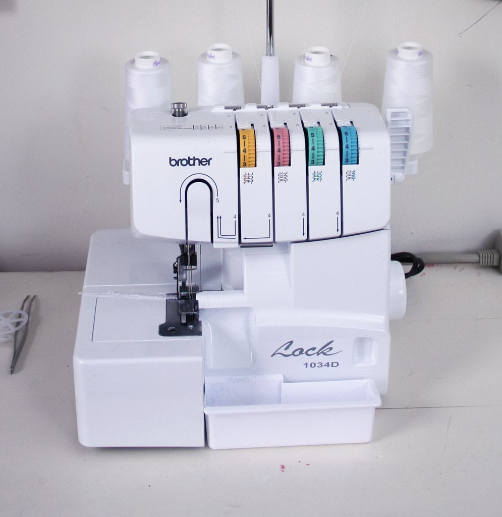 What I got for Christmas - a serger!