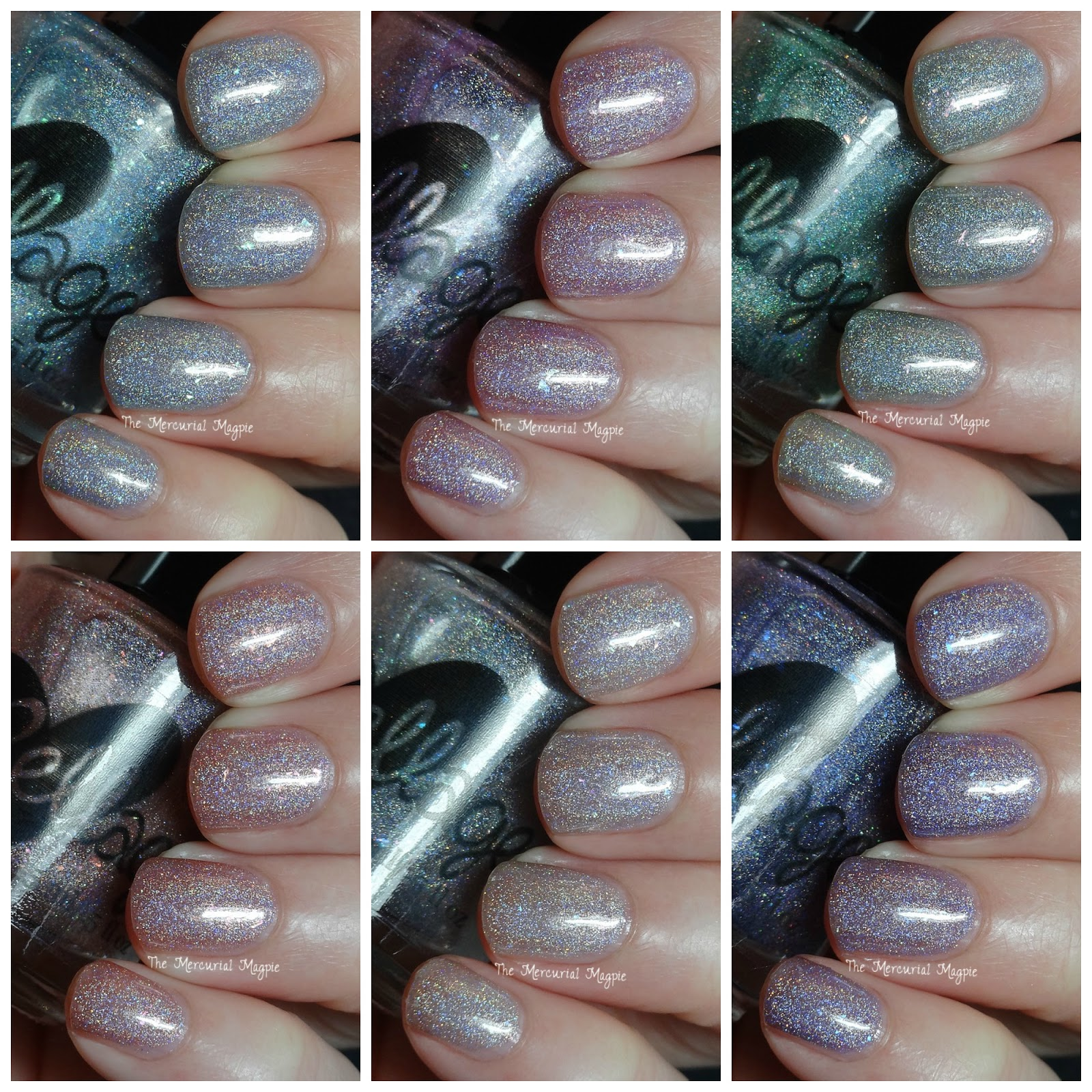 Ellagee Faerie Princesses Collection Swatches & Review