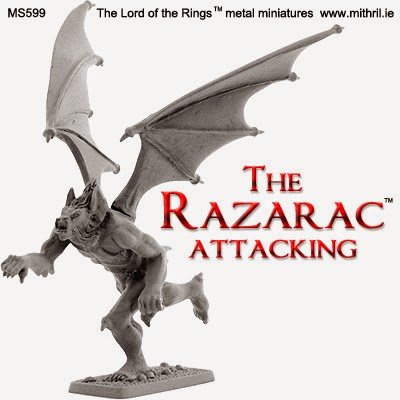 MS599 The Razarac attacking