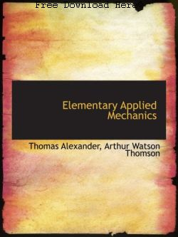 Download Elementary Applied Mechanics Book