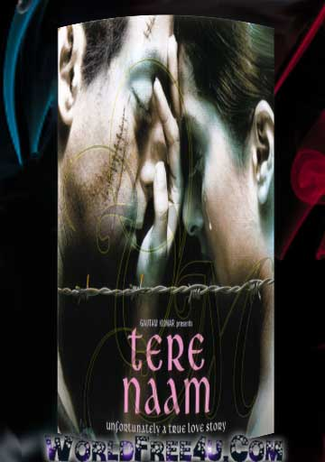 Poster Of Bollywood Movie Tere Naam (2003) 300MB Compressed Small Size Pc Movie Free Download worldfree4u.com