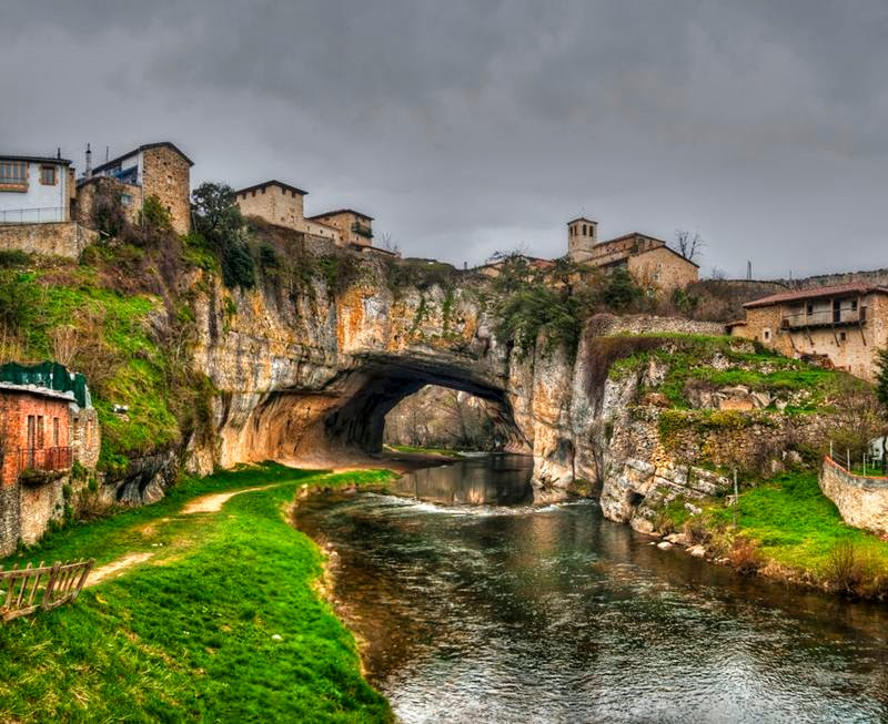 Puentedey, A Natural Stone Bridge | God's Bridge, Burgos