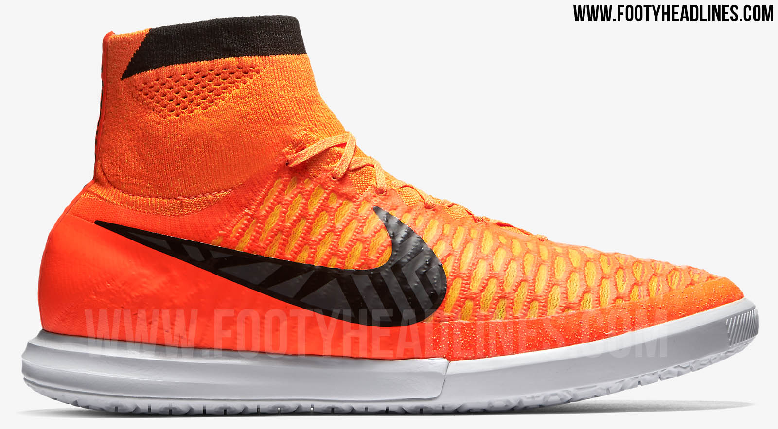Orange Nike Magista X ...