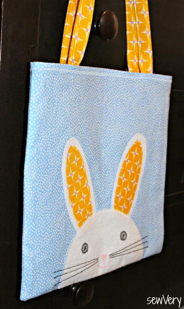 sewvery bunny face bag tutorial