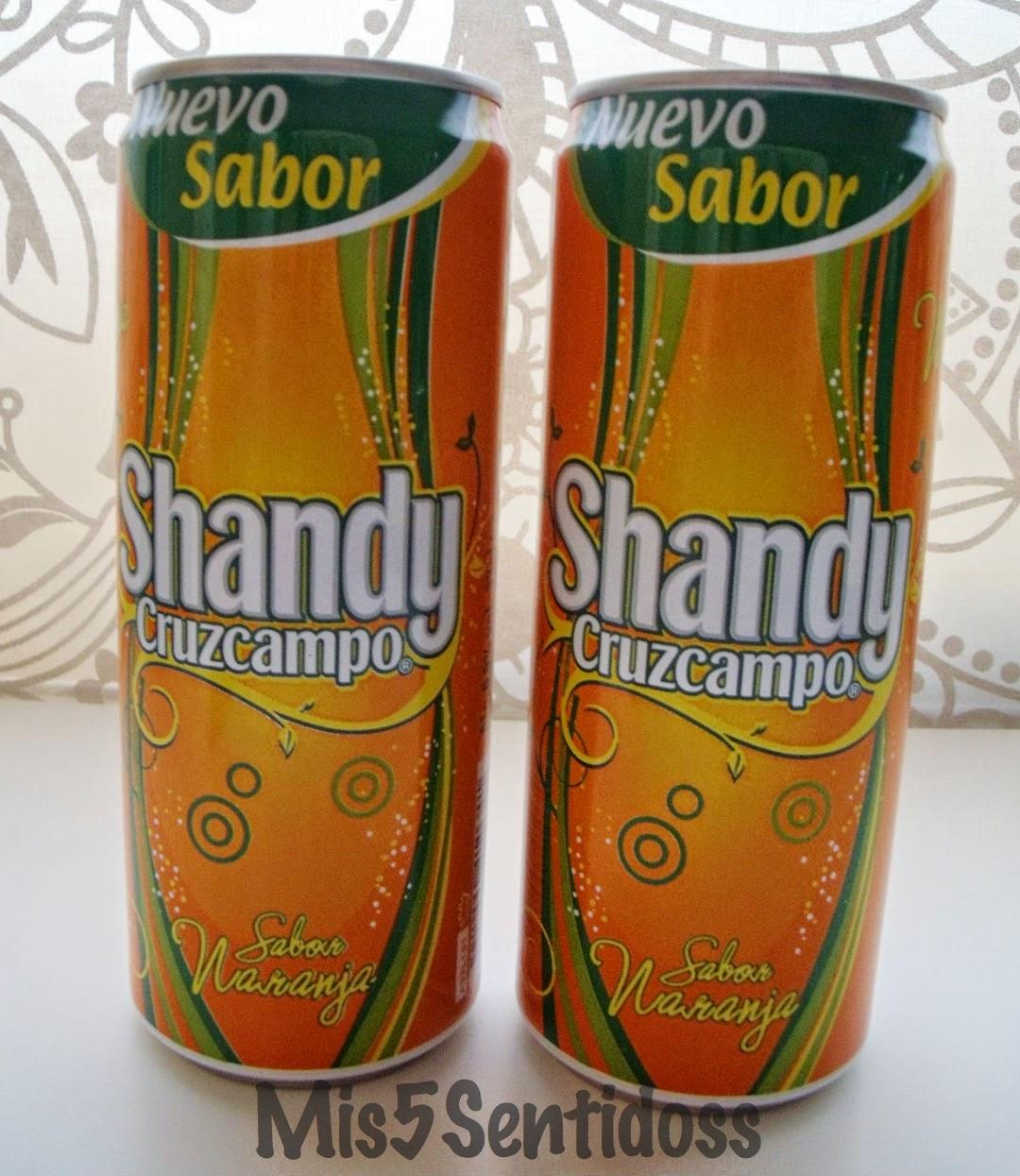Muestras Premium Marzo 2014 Shandy naranja