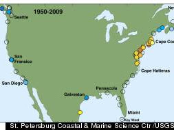 East Coast Sea Level Rise Accelerating In 'Hotspot' Area, Report Warns