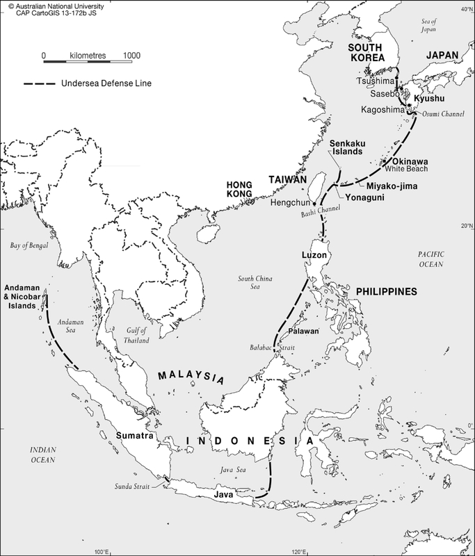 Submarine Matters How To Trap The Chinese Dragon SeaWebs Fixed - Us submarine bases map submar