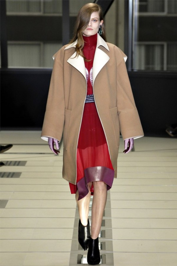 Paris Fashion Week Balenciaga Fall Winter 2012 2013 Collection