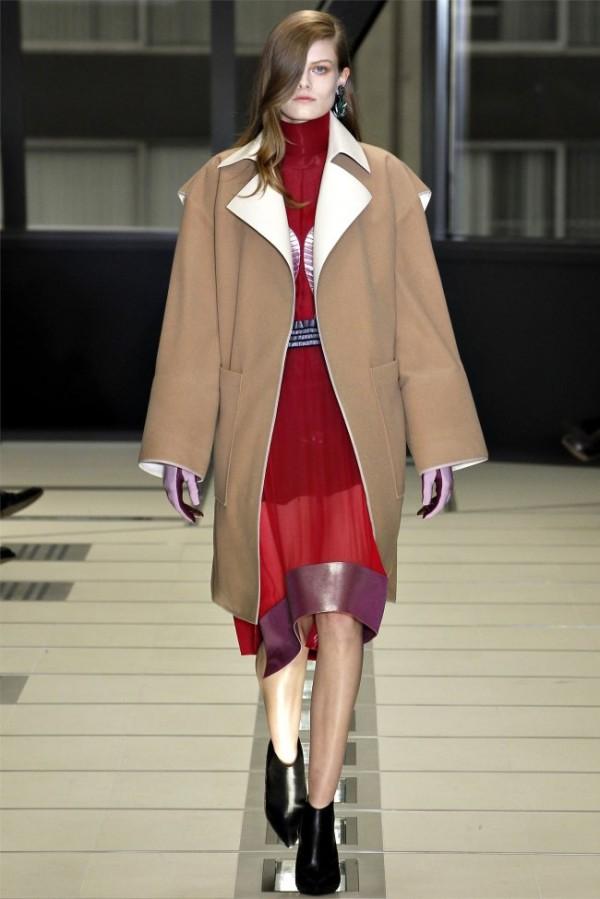 Paris Fashion Week Balenciaga Fall Winter 2012 2013 Collection